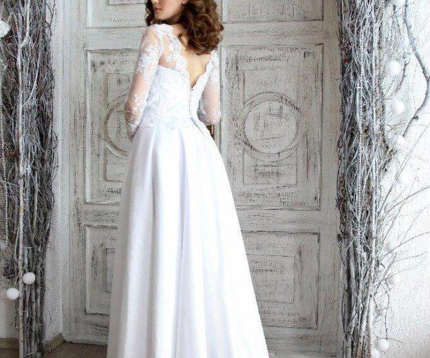 Свадебное платье в наличии. Фото 2. Красноярск.