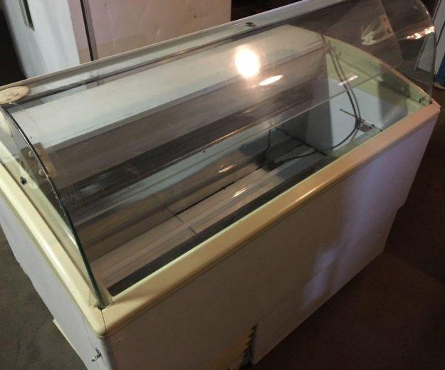 Морозильная витрина мороженого. Фото 1. Москва.