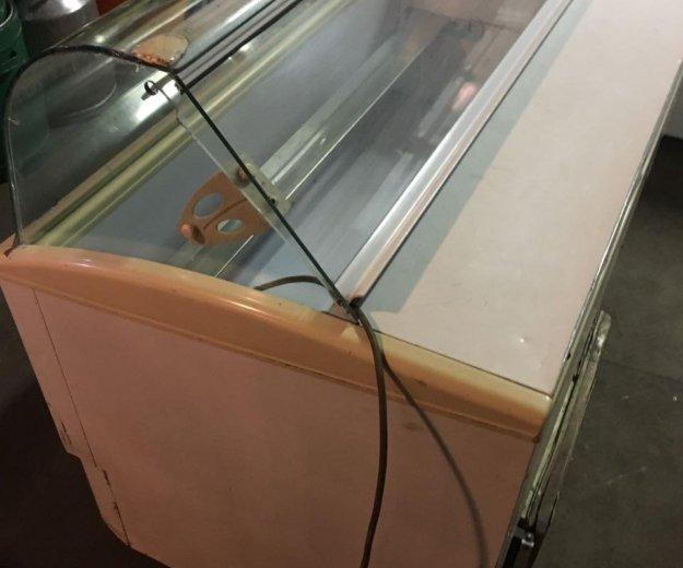 Морозильная витрина мороженого. Фото 4. Москва.
