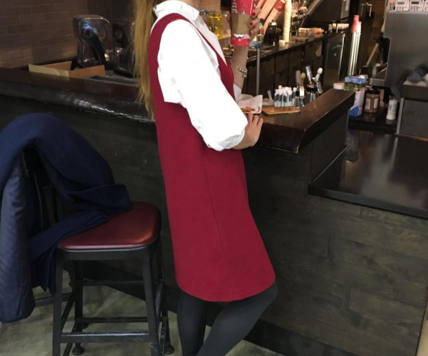 Платье-сарафан новое тёплое. Фото 1. Екатеринбург.
