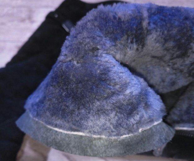 Сапоги замша цигейка. Фото 3. Краснодар.