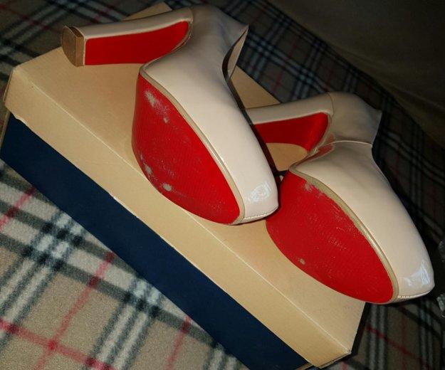 Туфли молочно-бежевые. Фото 4. Мытищи.