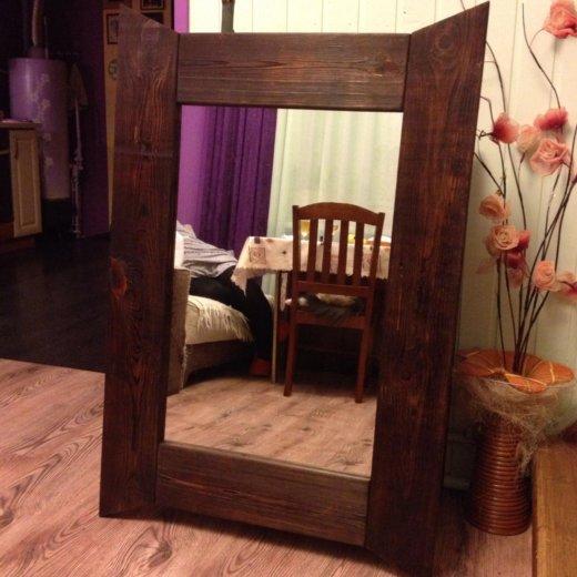 Старинное зеркало. настенное!. Фото 2. Малаховка.