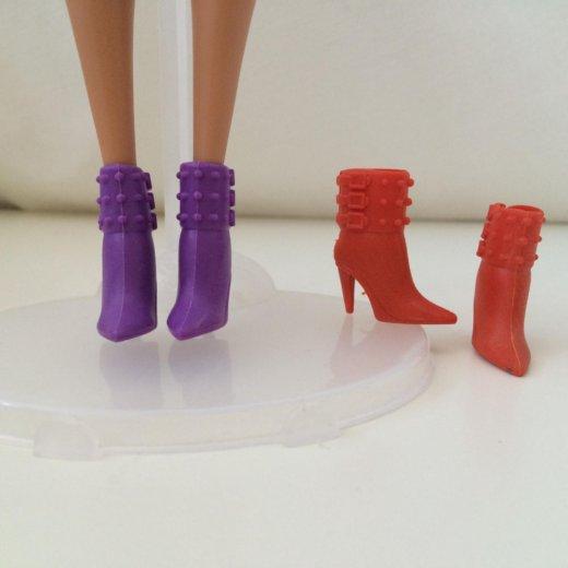 Сапоги для barbie. Фото 2. Москва.