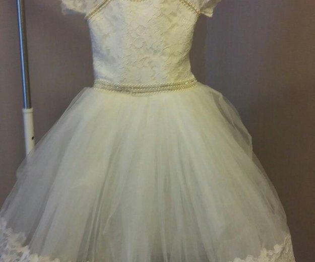 Праздничное платье для девочки. Фото 4. Домодедово.