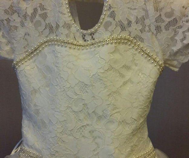 Праздничное платье для девочки. Фото 3. Домодедово.
