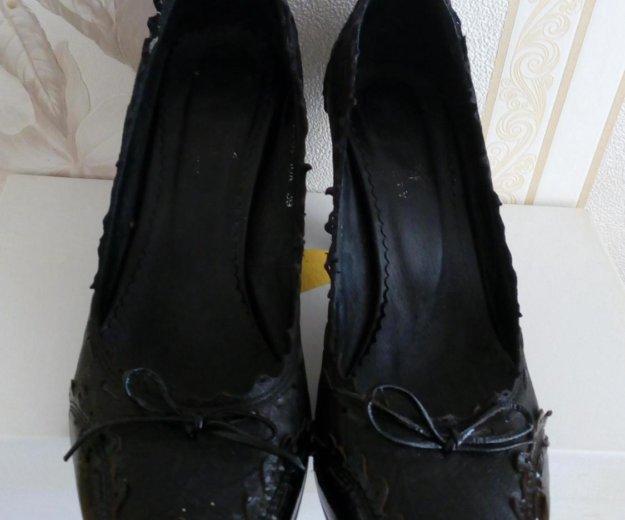 Туфли кожа р.39. Фото 1. Пенза.