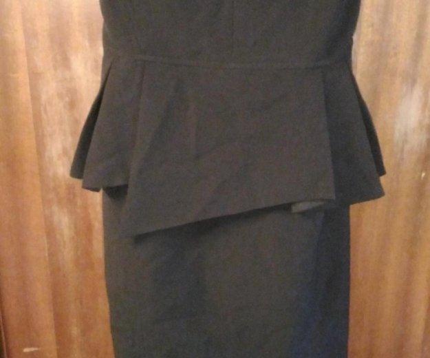 Платье с баской. Фото 2. Тельмана.