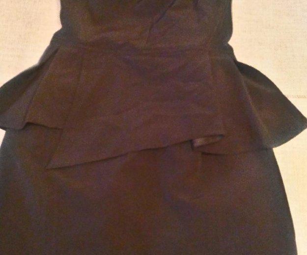 Платье с баской. Фото 3. Тельмана.
