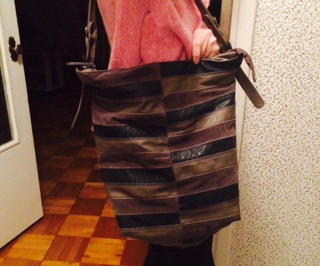 Кожаная сумка. Фото 2. Петрозаводск.