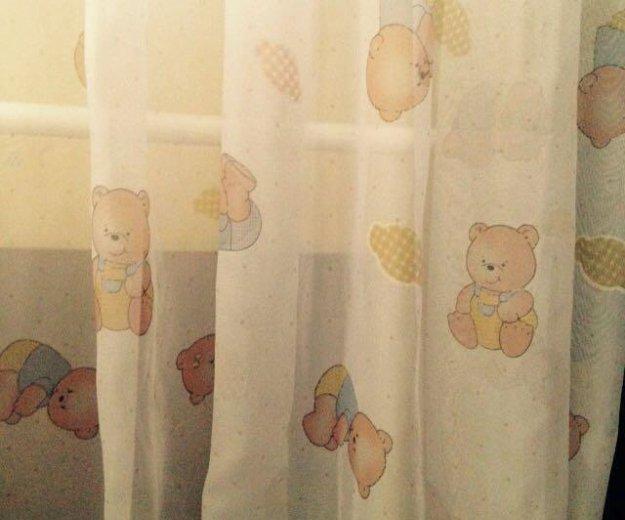 Тюль в детскую. Фото 1. Москва.
