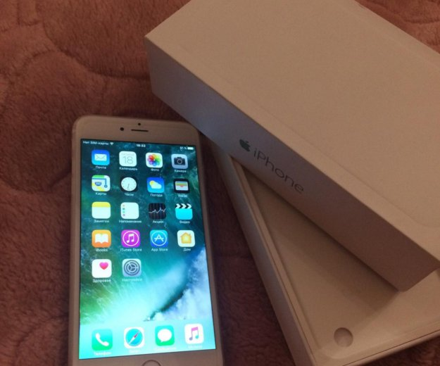 Iphone 6 plus gold 64 gb. Фото 2. Красногорск.