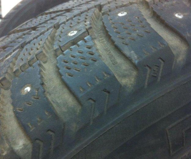 Колеса на дисках 195/65/15 шипы. Фото 3. Люберцы.