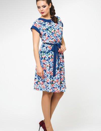 Новое летнее платье с этикеткой 52 размер. Фото 2. Москва.