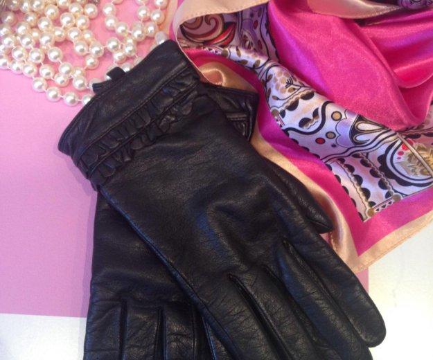 Перчатки кожаные женские. Фото 1. Краснодар.