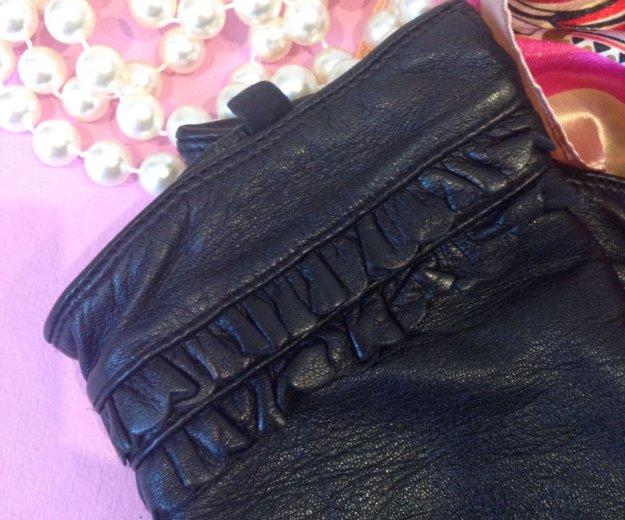 Перчатки кожаные женские. Фото 3. Краснодар.