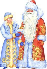 Дед мороз и снегурочка. Фото 1. Уфа.