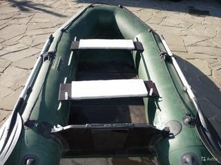 Лодка надувная килевая нептун 280 с мотором. Фото 1. Ростов-на-Дону.