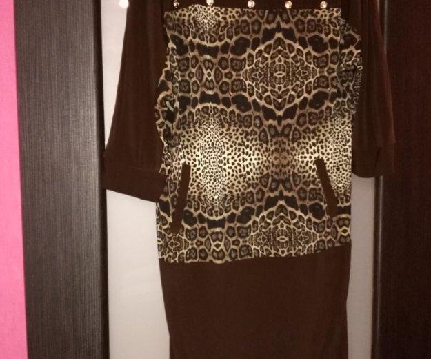 Новое трикотажное платье. Фото 1. Аксай.