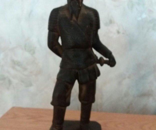 """Чугунная статуэтка """"ермак"""". Фото 2. Ильский."""