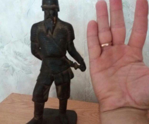 """Чугунная статуэтка """"ермак"""". Фото 1. Ильский."""