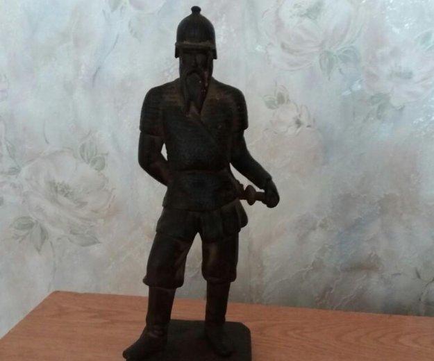 """Чугунная статуэтка """"ермак"""". Фото 3. Ильский."""