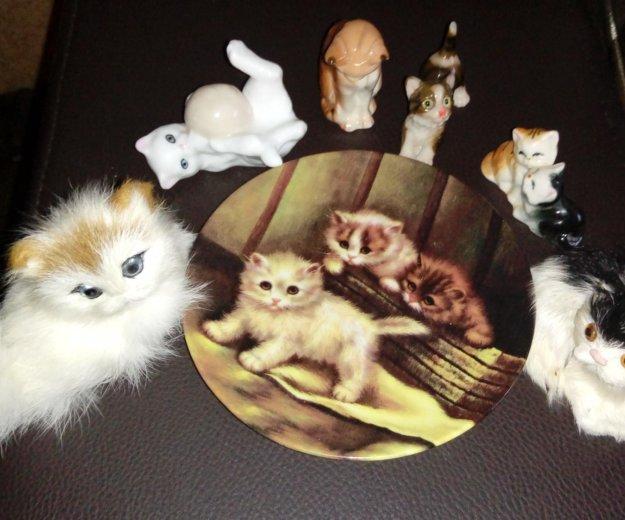 Керамические фигурки кошек. Фото 1. Москва.