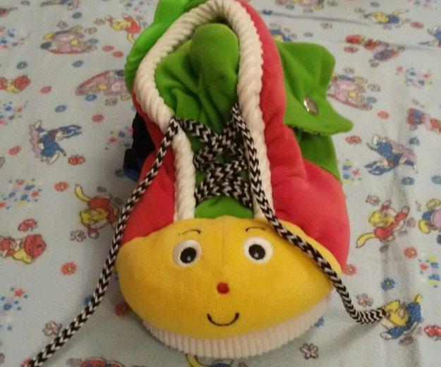 Развивающая игрушка ботинок. Фото 1. Мытищи.