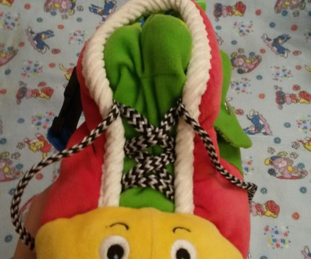 Развивающая игрушка ботинок. Фото 4. Мытищи.
