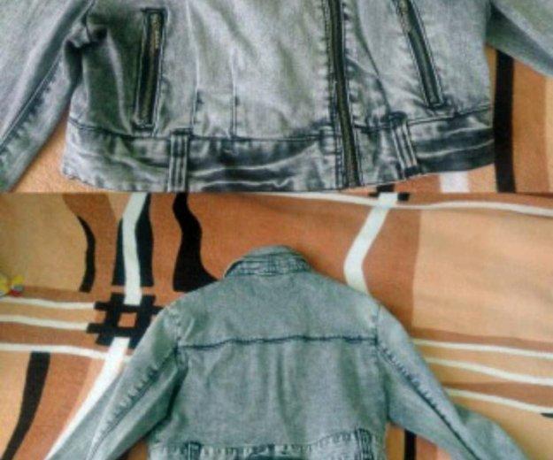 Джинсовая куртка. Фото 2. Краснодар.
