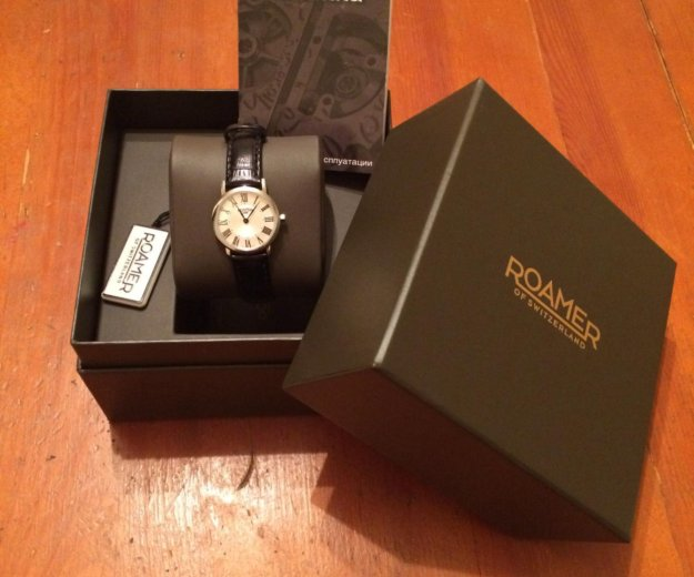 Швейцарские часы roamer. Фото 1. Москва.