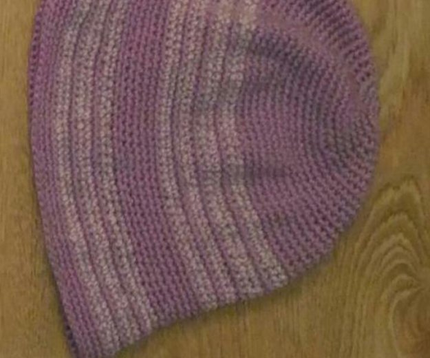 Шляпа вязаная. Фото 4. Уфа.