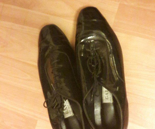 Мужские туфли для бальных танцев. Фото 1. Москва.