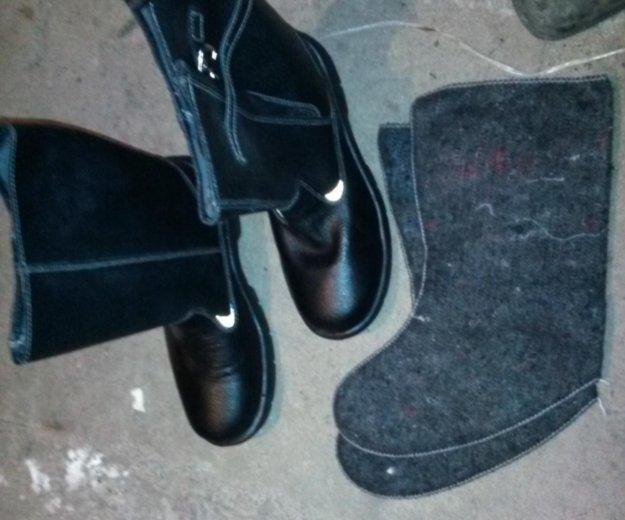 Сапоги кожаные 43 размер. Фото 1. Балаково.