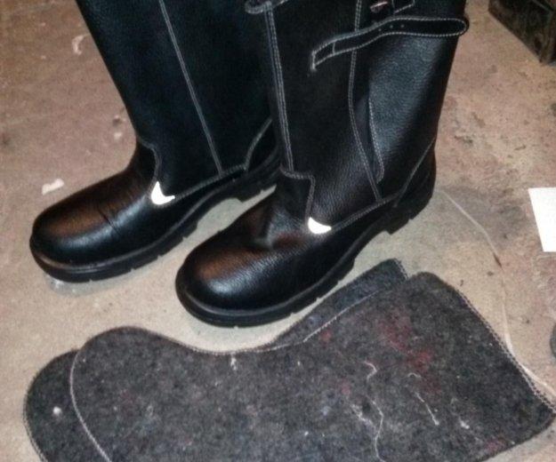 Сапоги кожаные 43 размер. Фото 2. Балаково.