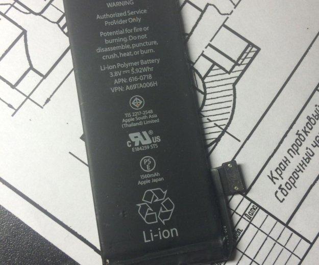 Аккумулятор для iphone 5c/5s. Фото 1. Одинцово.