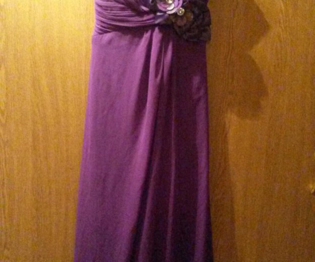 Вечернее платье в пол. Фото 3. Москва.
