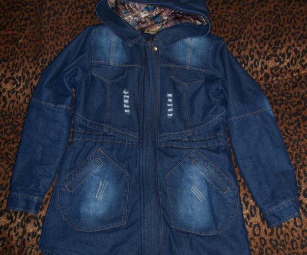 Новая джинсовая куртка. Фото 2. Волгоград.