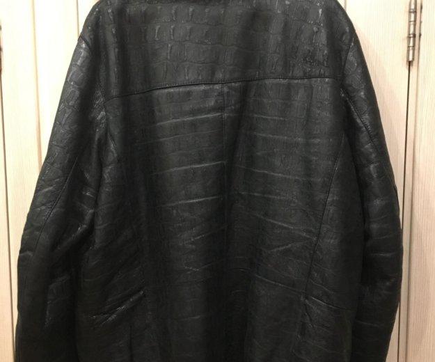 Куртка мужская 52-54 натуральная кожа. Фото 2. Москва.
