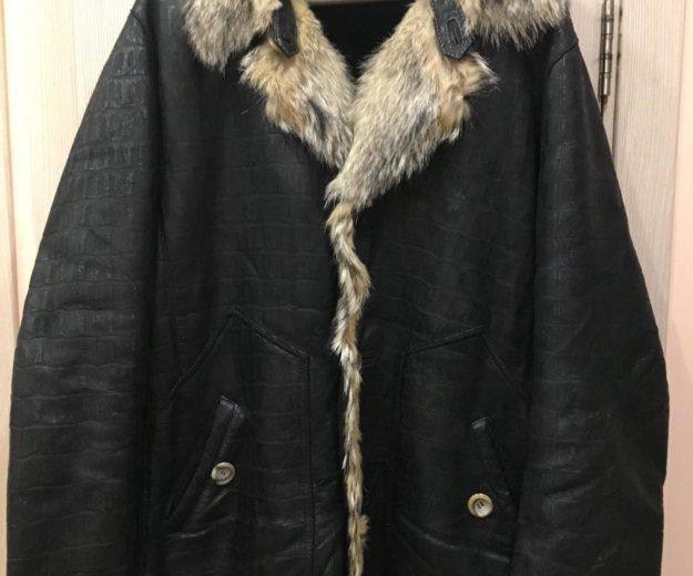 Куртка мужская 52-54 натуральная кожа. Фото 1. Москва.