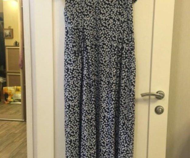 Платье новое шифон в пол. Фото 1. Долгопрудный.
