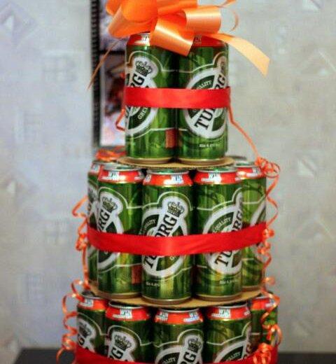 Торт из пива🍻 отличный подарок на 23 февраля 🎁. Фото 1. Екатеринбург.