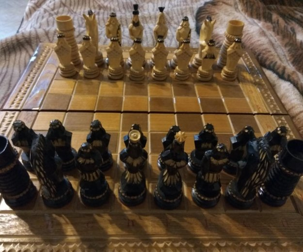 Шахматы, подарок. Фото 2. Зеленоград.