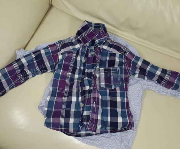 Рубашки детские  9-18 мес. Фото 1. Балашиха.