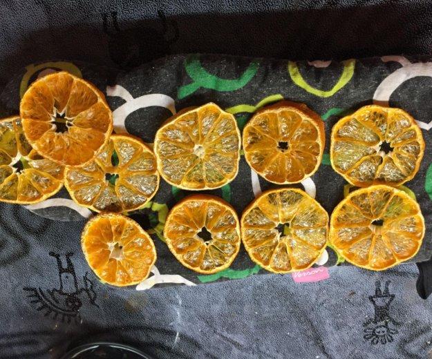 Сушеные мандариновые кружочки 20 шт. Фото 1. Москва.