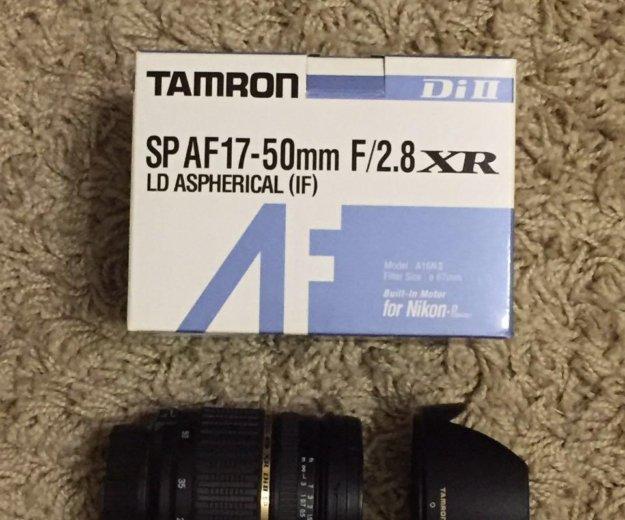 Объектив tamron sp af 17-50mm f/2.8 xr di ii. Фото 1. Ростов-на-Дону.