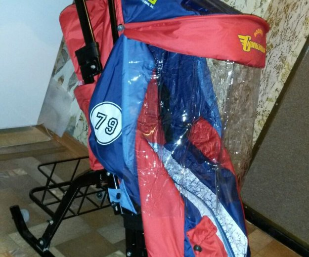 Санки-коляска скользяшки. Фото 1. Пенза.