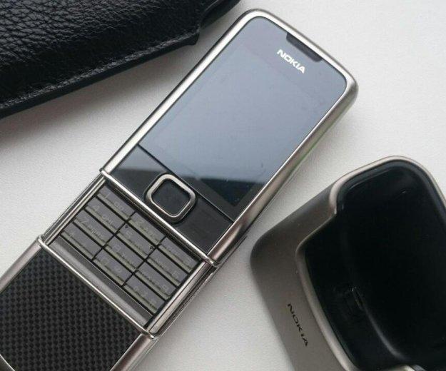 Nokia 8800 carbon arte titanium. Фото 1. Назрань.