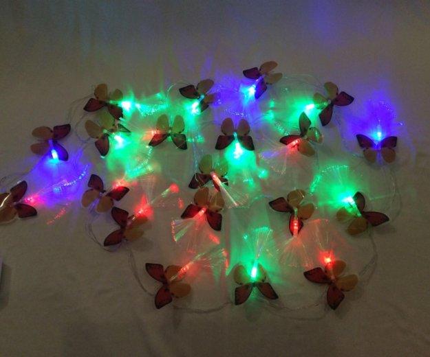 Гирлянда бабочки. Фото 3. Санкт-Петербург.