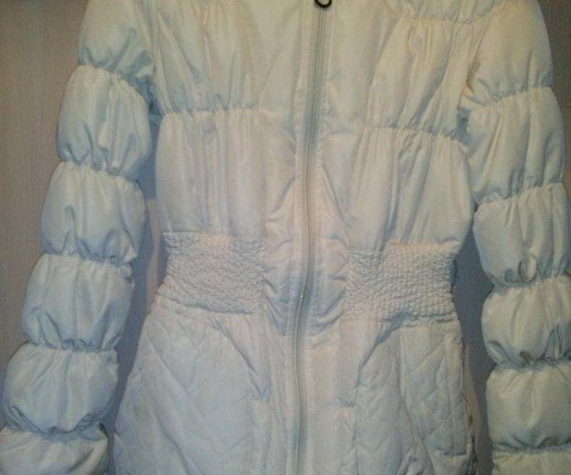 Куртка  б / у пуховик тонкий. Фото 1. Подольск.